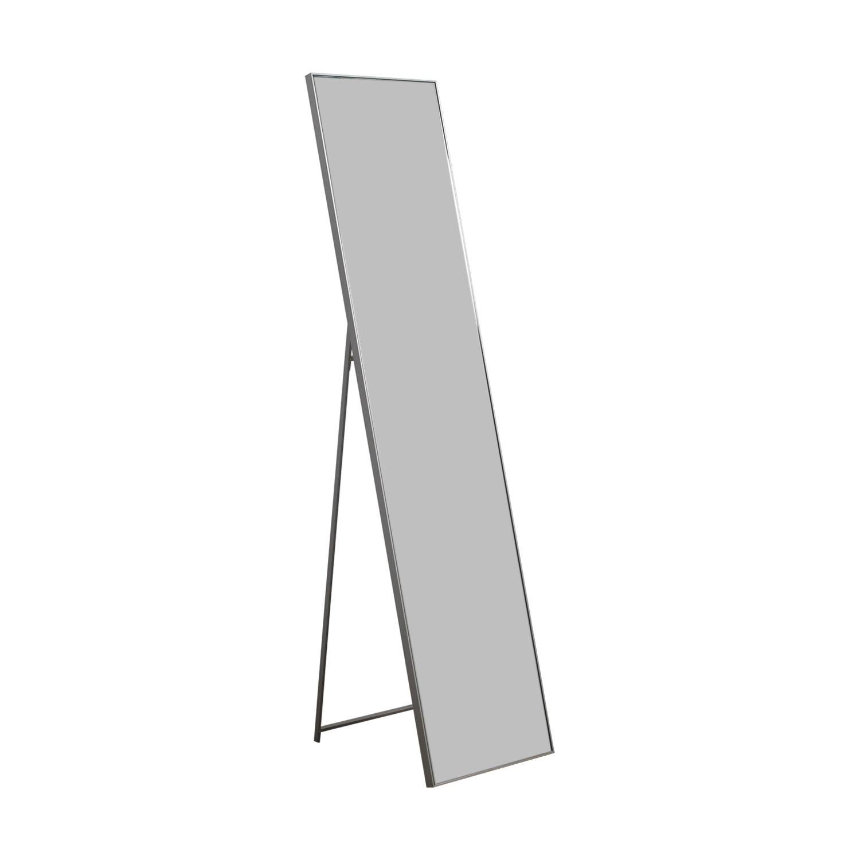 shop CB2 Silver Standing Infinity Mirror CB2