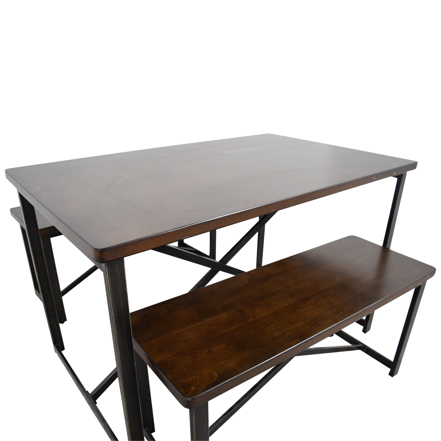 Wooden Dining Tables And Benches: Ashley Furniture Ashley Furniture Wood And Metal