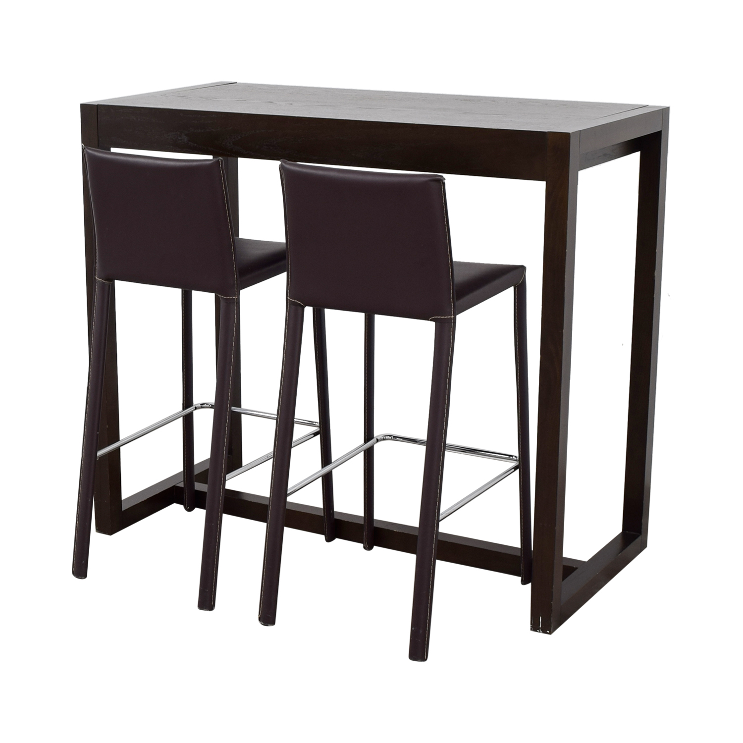 88 off west elm west elm bar table with bar stools tables west elm west elm bar table with bar stools dimensions watchthetrailerfo