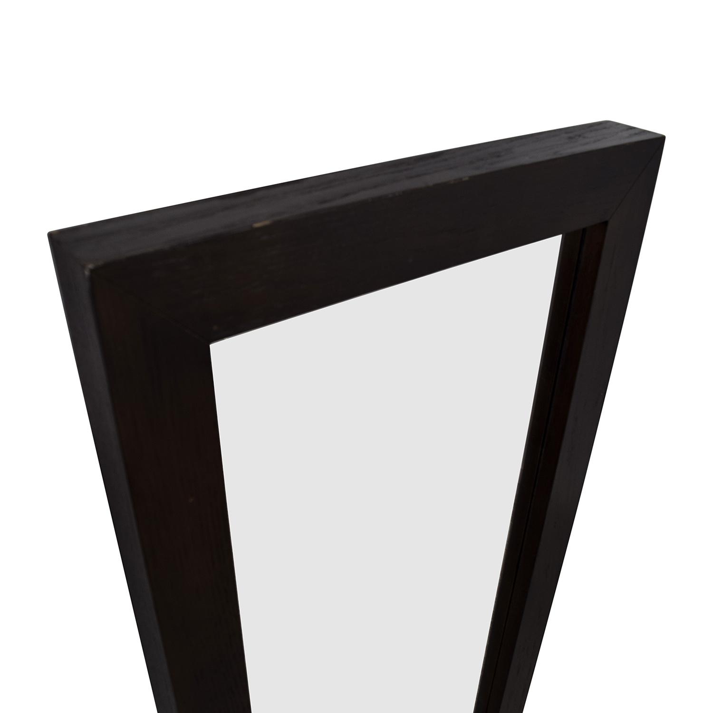 72 Off West Elm West Elm Floating Wood Floor Mirror Decor