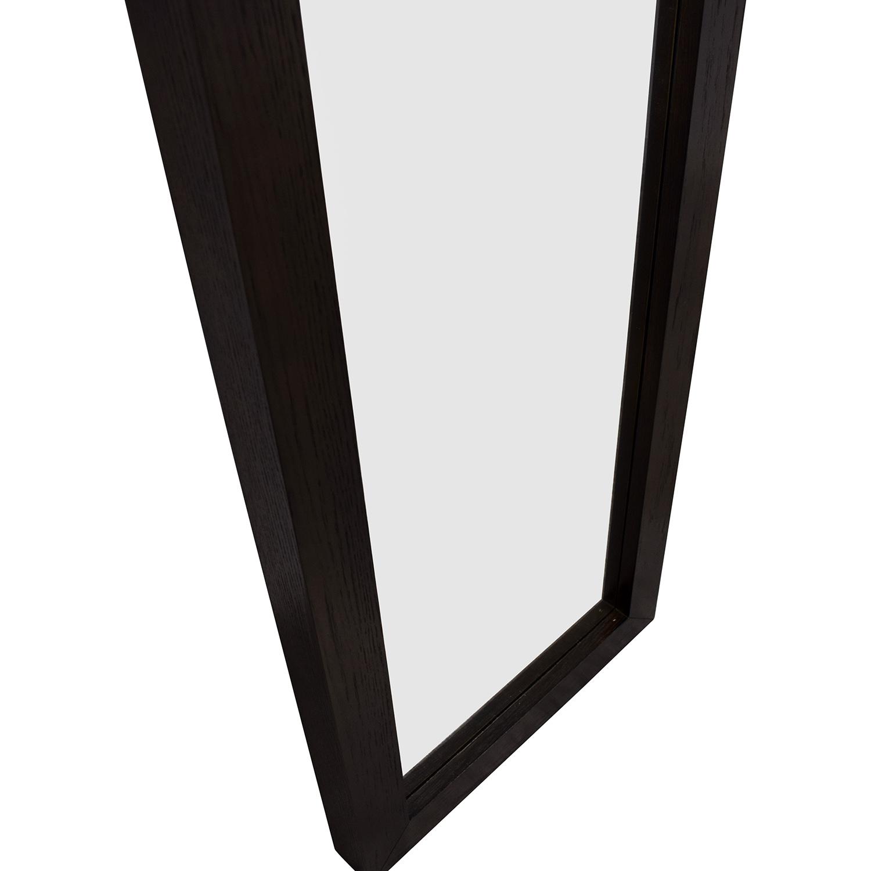 West Elm West Elm Floating Wood Floor Mirror discount