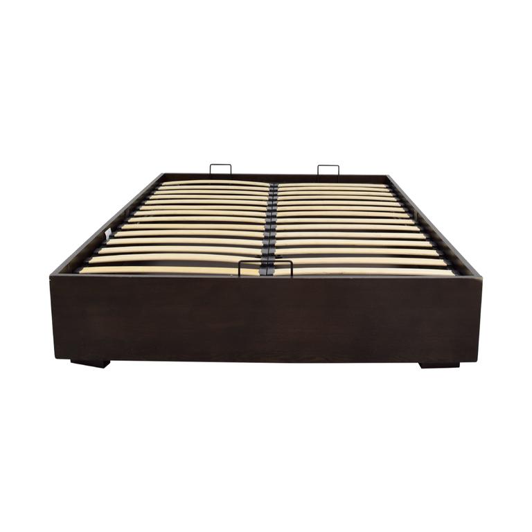 West Elm West Elm Pivot Platform Storage Queen Bed Frame discount