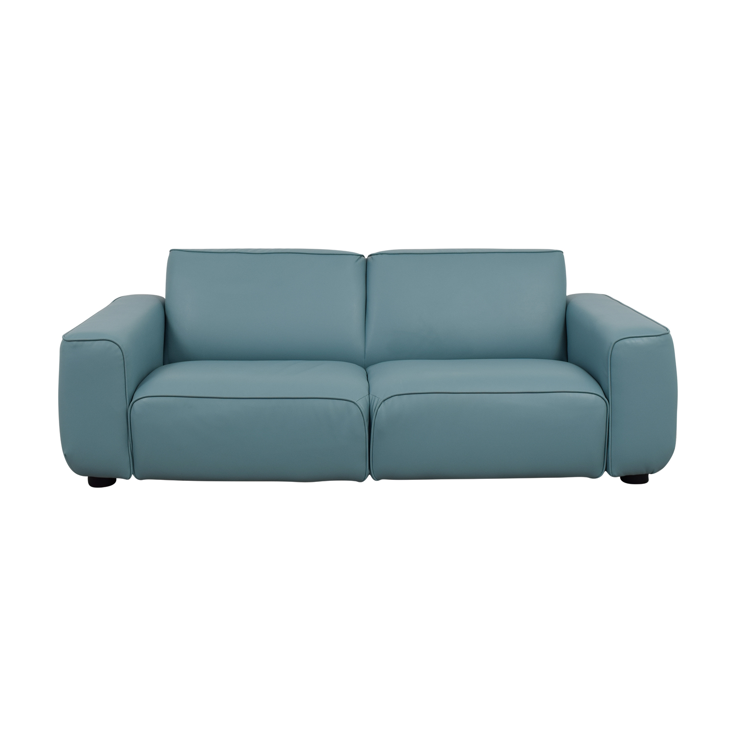 Ikea Coated Baby Blue Loveseat For