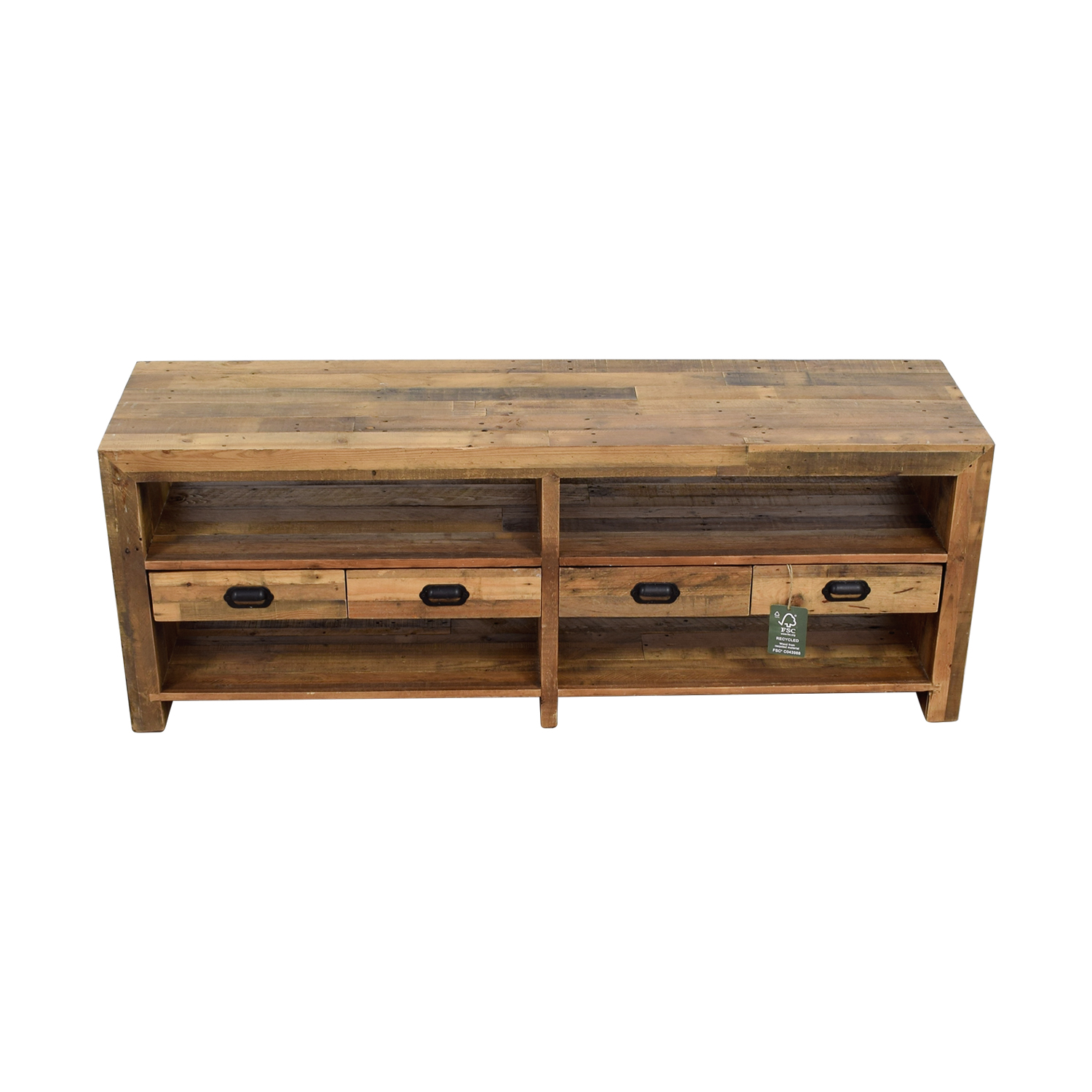 ABC Carpet & Home ABC Carpet & Home Rustic Wood TV Console nj