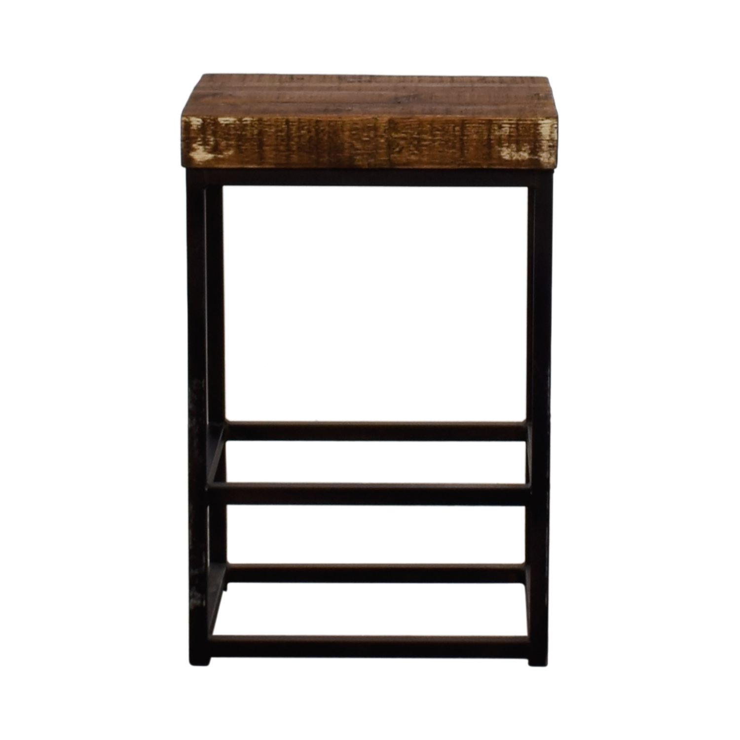 44 Off Homegoods Home Goods Wood And Metal Night Stand Tables