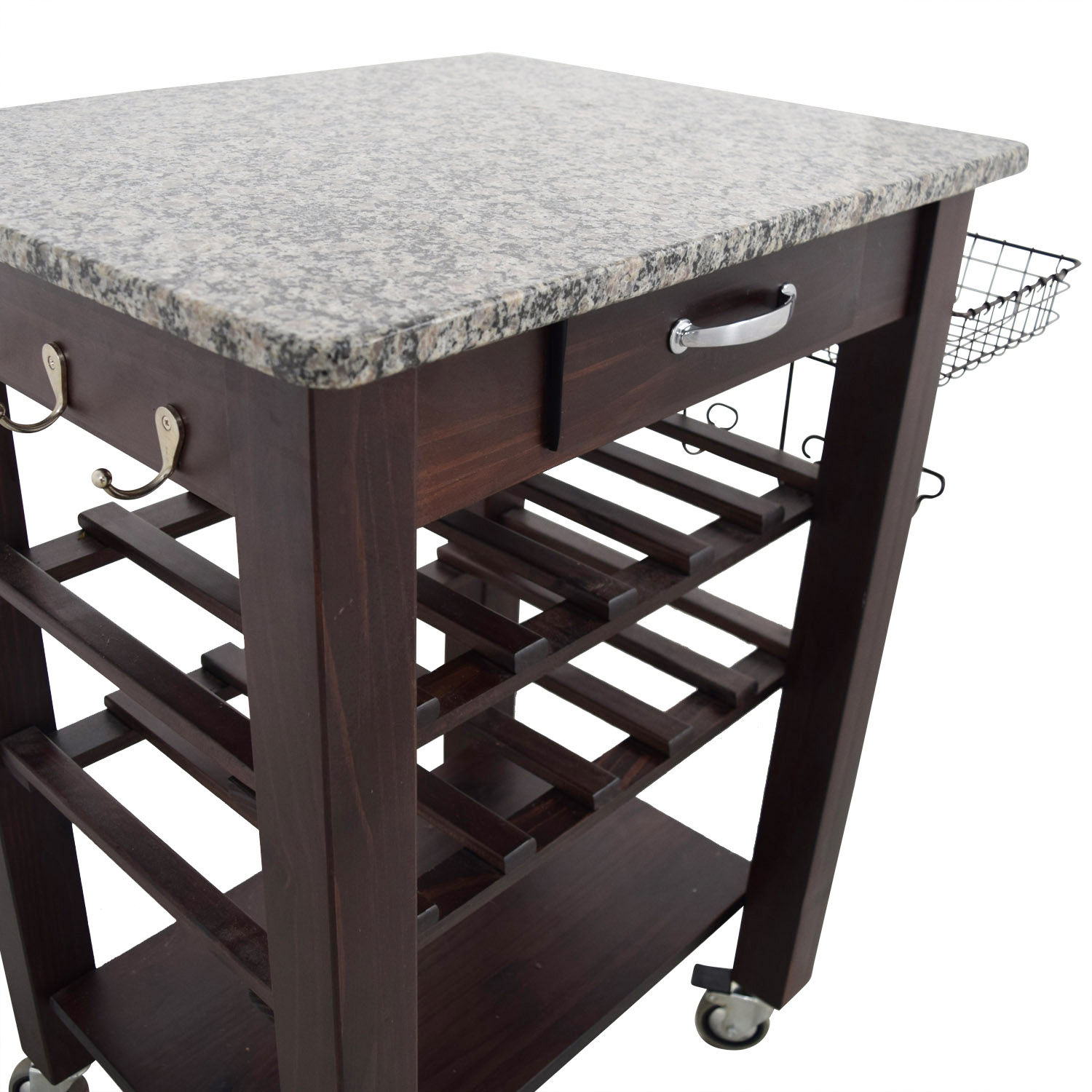 OFF Home Goods Home Goods Marble Top and Wood Base Kitchen