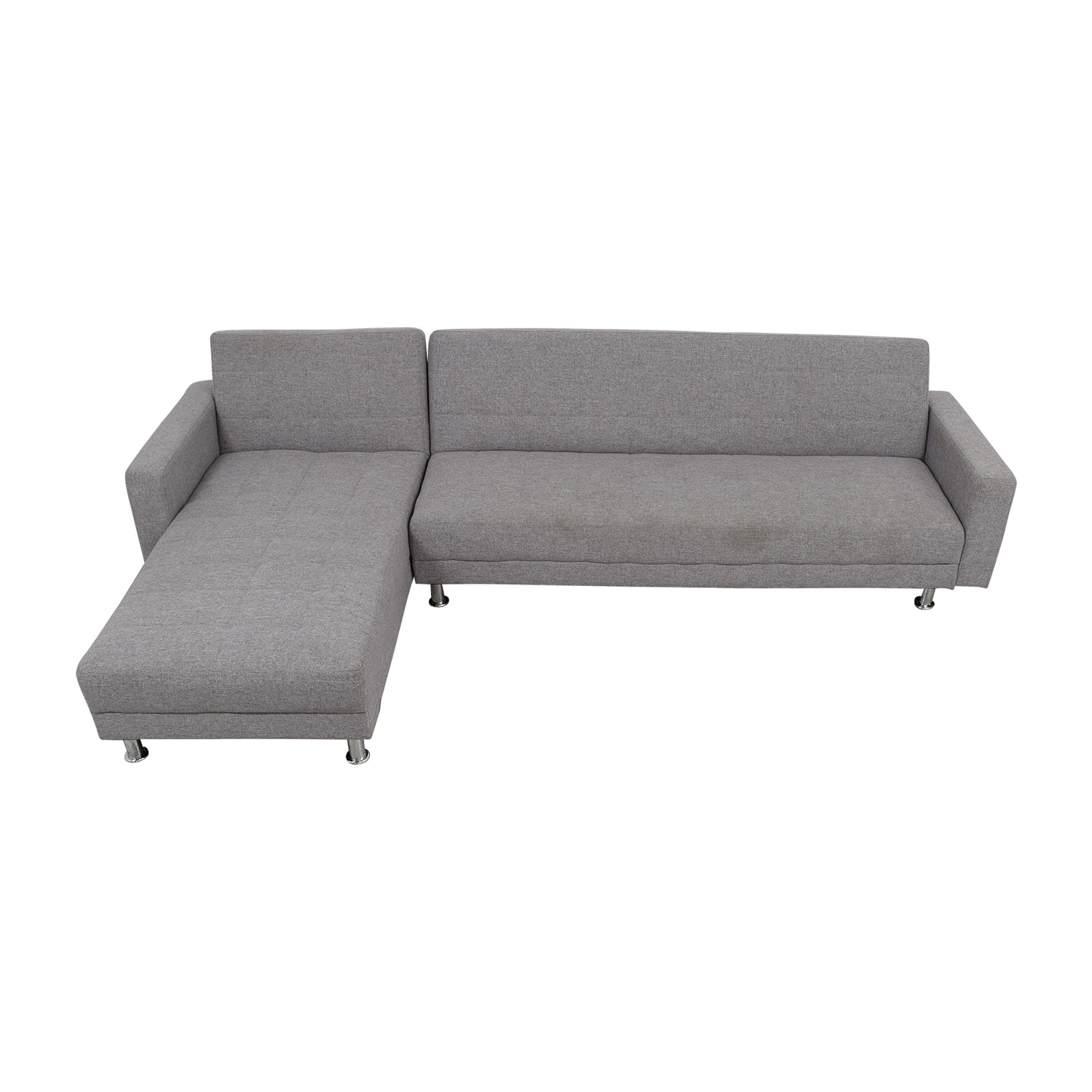 buy Grey L-Shaped Sectional Sectionals