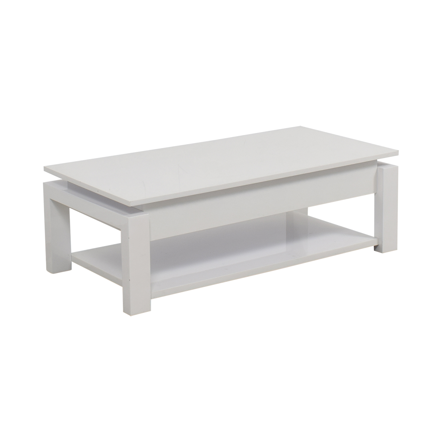 87 Off White Lift Top Coffee Table Tables