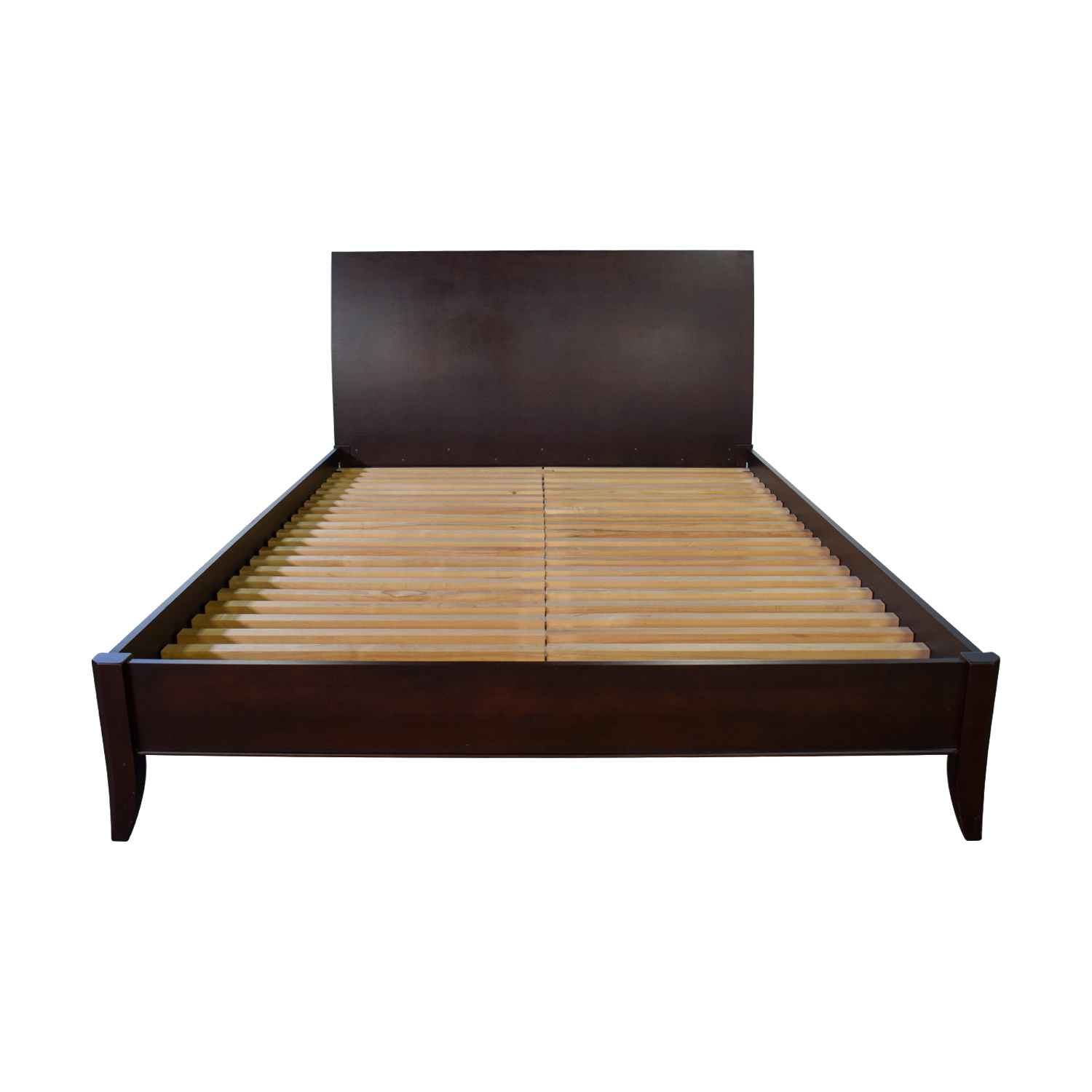 79 Off Baronet Baronet Canada Wood Queen Platform Bed Frame Beds