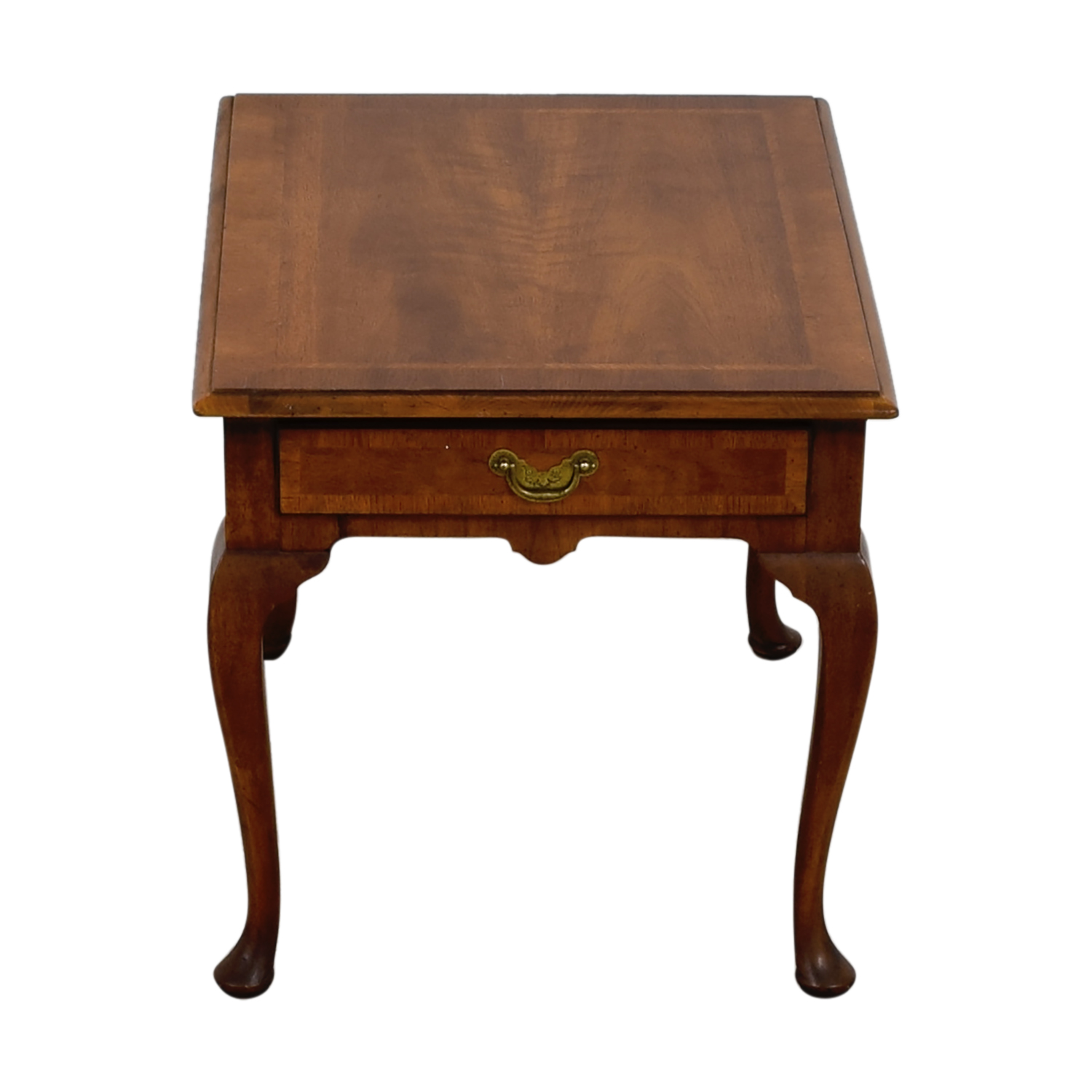 Single Drawer Wood End Table sale
