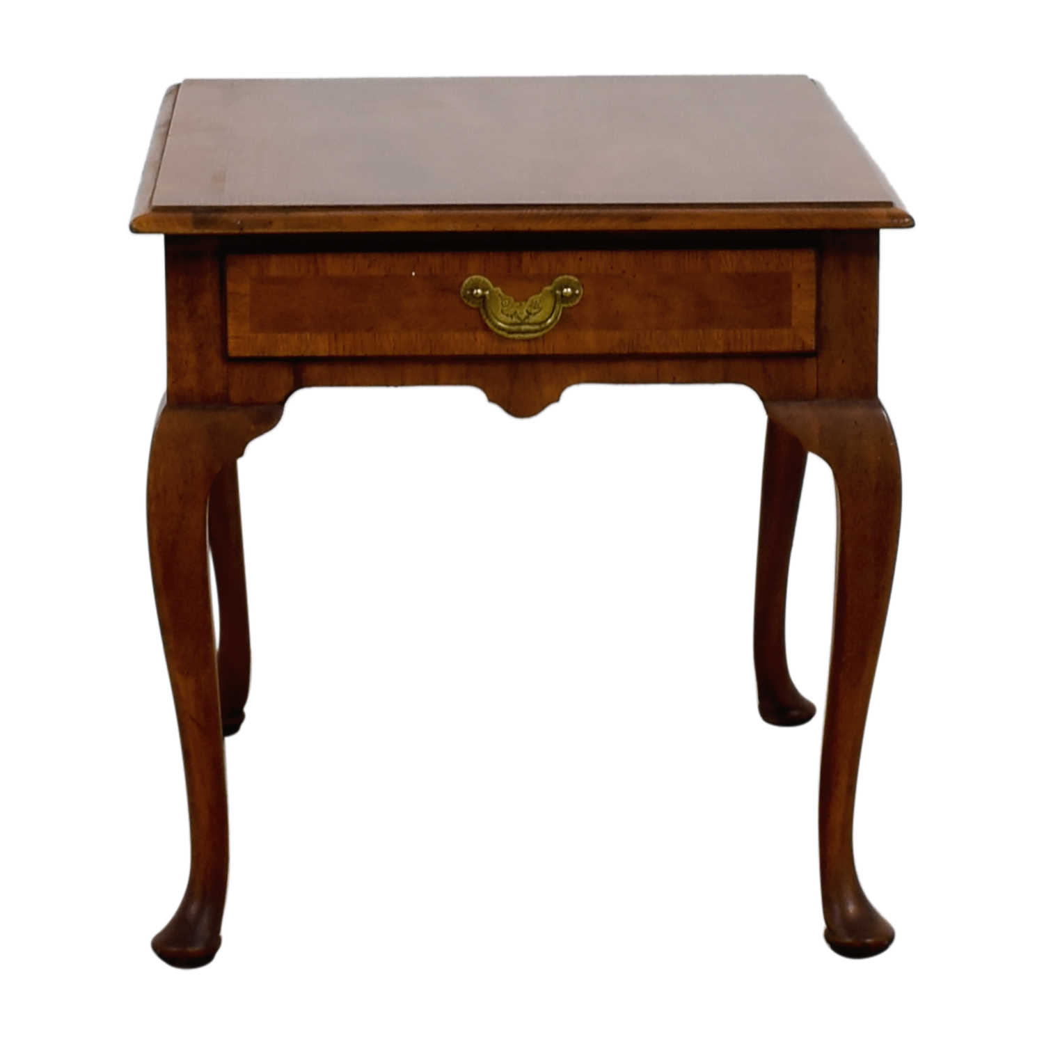 buy Single Drawer Wood End Table  Tables