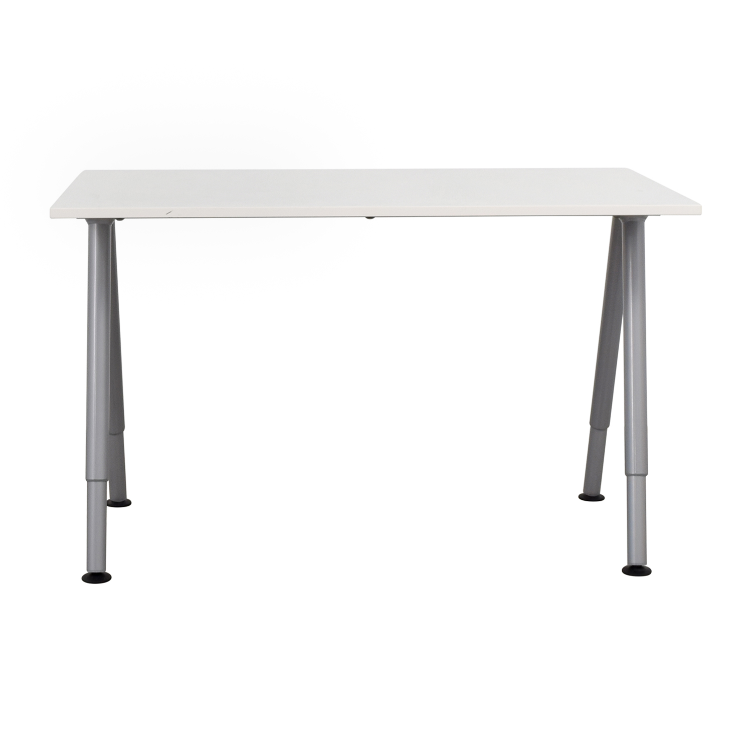 Ikea Thyge White Desk Tables