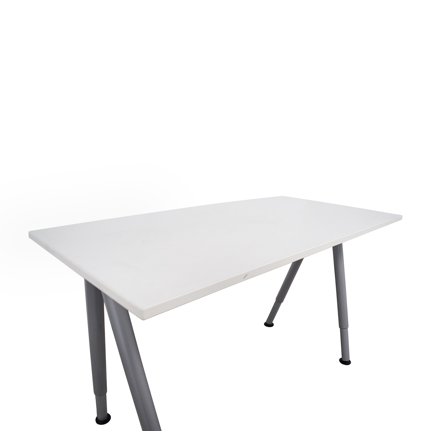 79 Off Ikea Ikea Thyge White Desk Tables