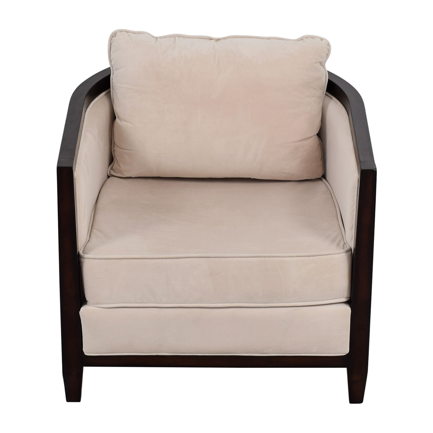 ... Coaster Coaster Beige Leisure Accent Chair Second Hand ...