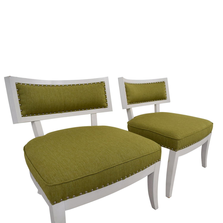 Sunpan Modern Home Sunpan Modern Home Mystique Pear Green Chairs second hand