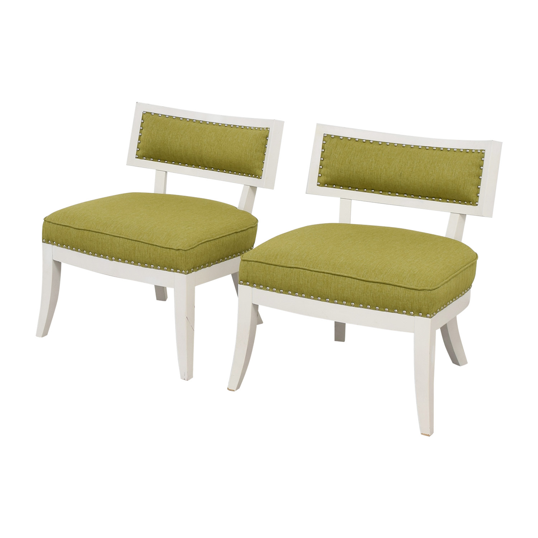 Sunpan Modern Home Sunpan Modern Home Mystique Pear Green Chairs dimensions