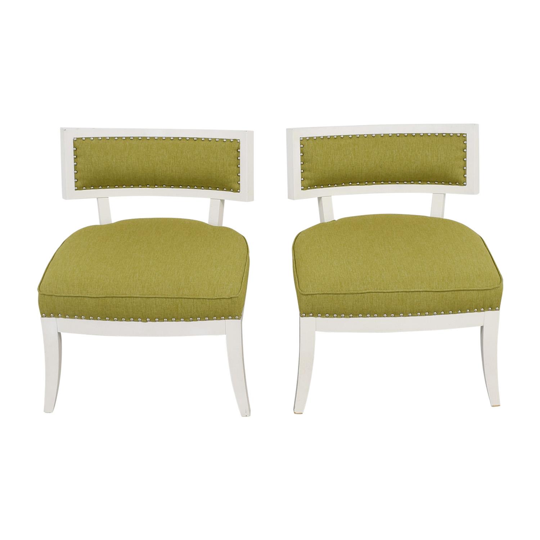 Sunpan Modern Home Mystique Pear Green Chairs sale