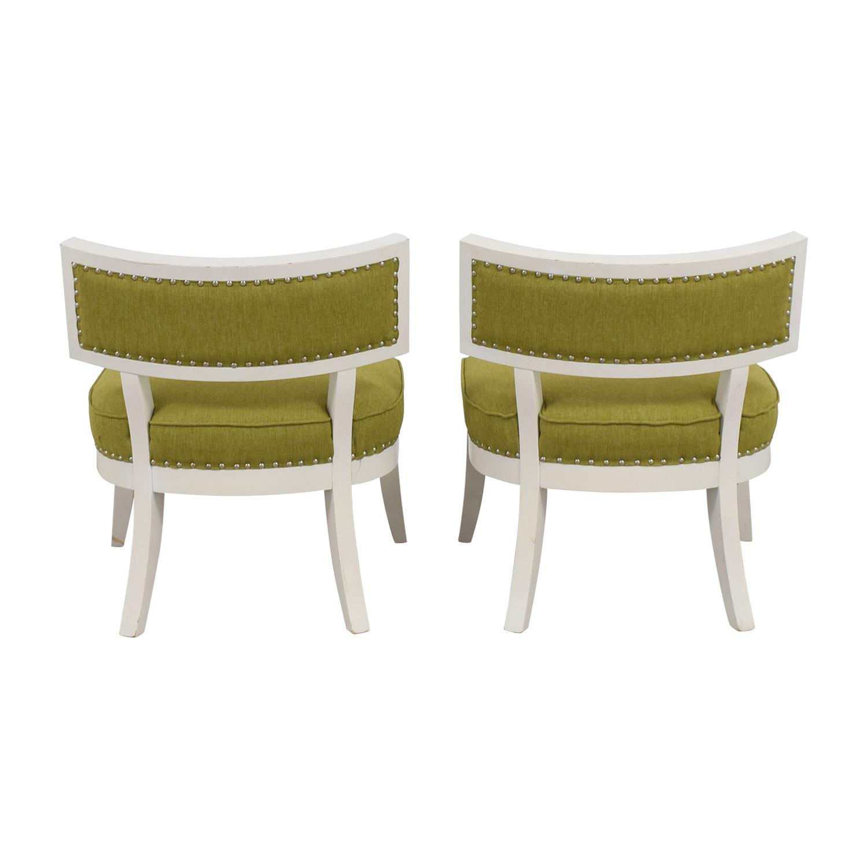 Sunpan Modern Home Mystique Pear Green Chairs Sunpan Modern Home