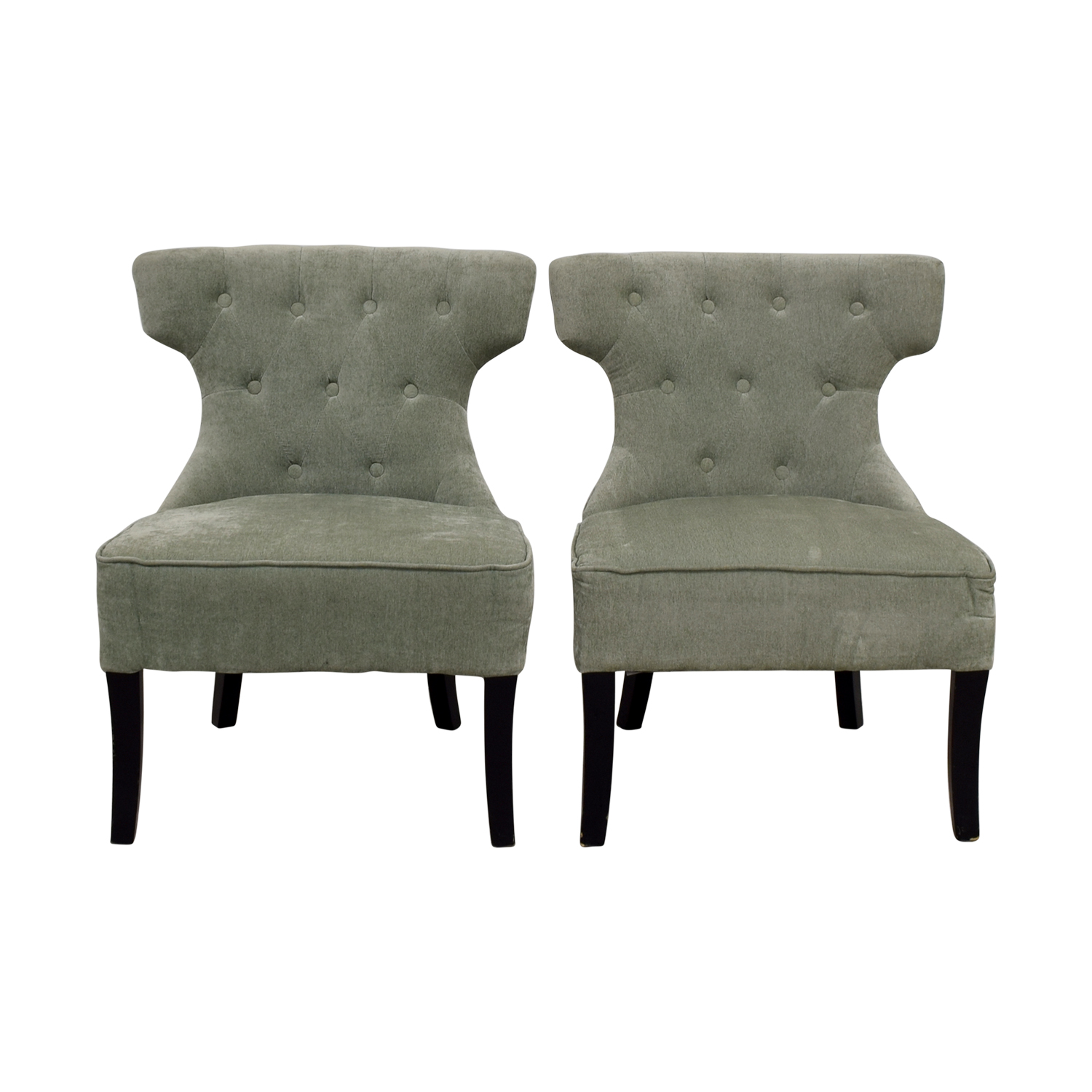 all modern ritz teal tufted accent chairs all modern .  off  all modern all modern ritz teal tufted accent chairs