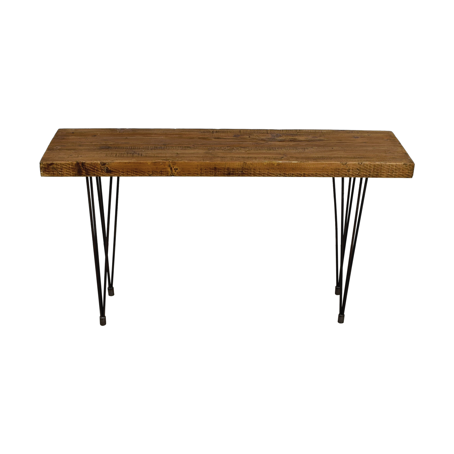 Does Home Collection Does Home Collection Boneta Rustic Wood Console on sale