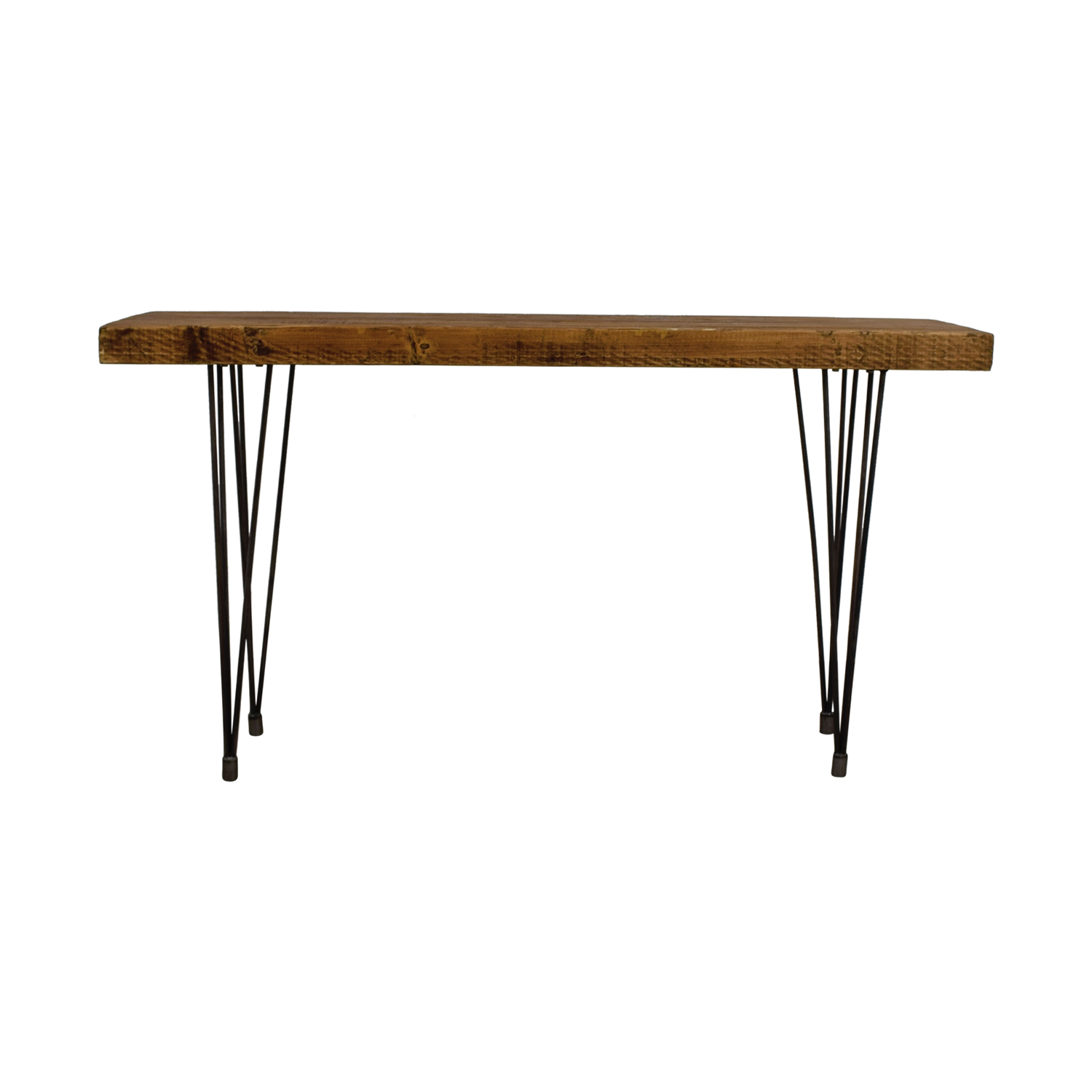 shop Does Home Collection Boneta Rustic Wood Console Does Home Collection