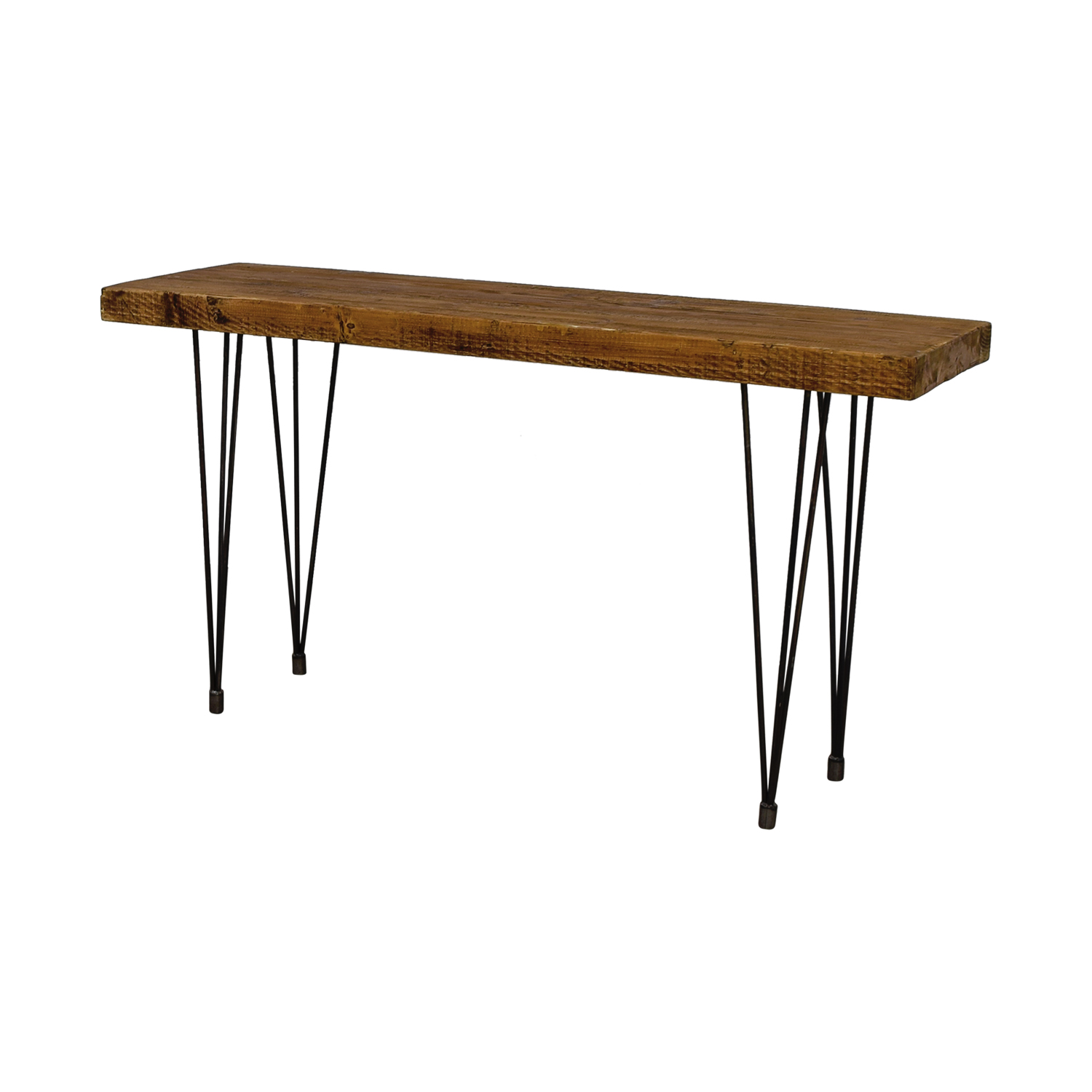 Does Home Collection Boneta Rustic Wood Console Does Home Collection