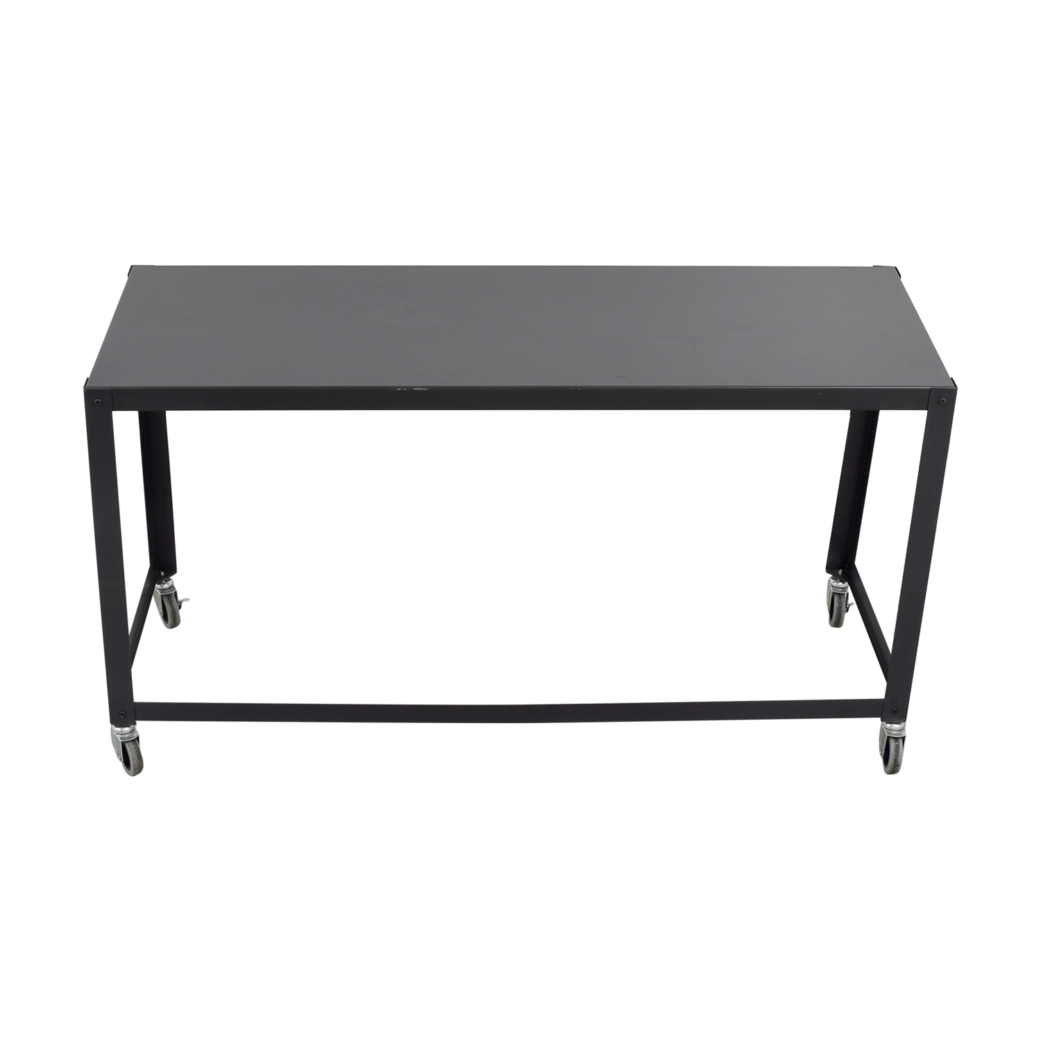buy Grey Mobile Desk on Castors online