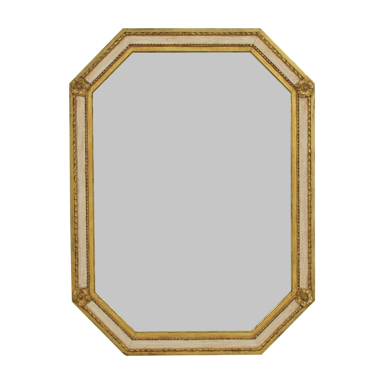 88% OFF - Heydenryk Heydenryk Custom Distressed Gold Wall Mirror / Decor