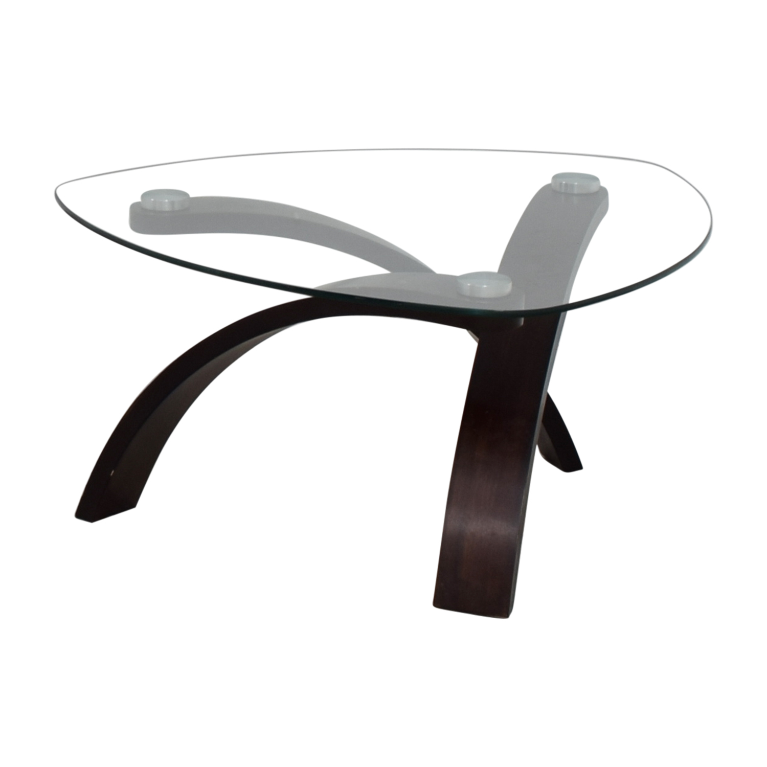 Remarkable 74 Off Rooms To Go Rooms To Go Glass And Wood Coffee Table Tables Bralicious Painted Fabric Chair Ideas Braliciousco