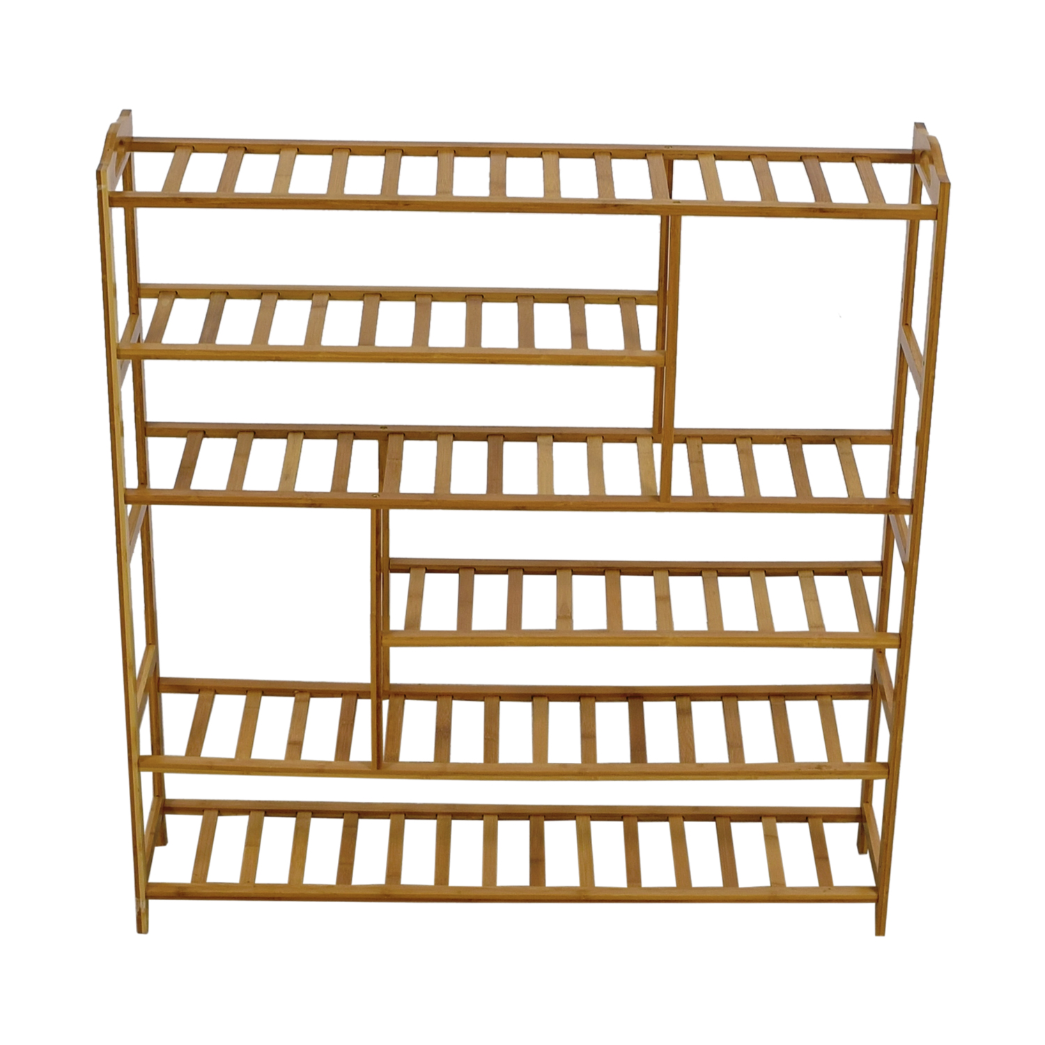 shop Ollieroo Ollieroo Natural Wood Shoe Rack online