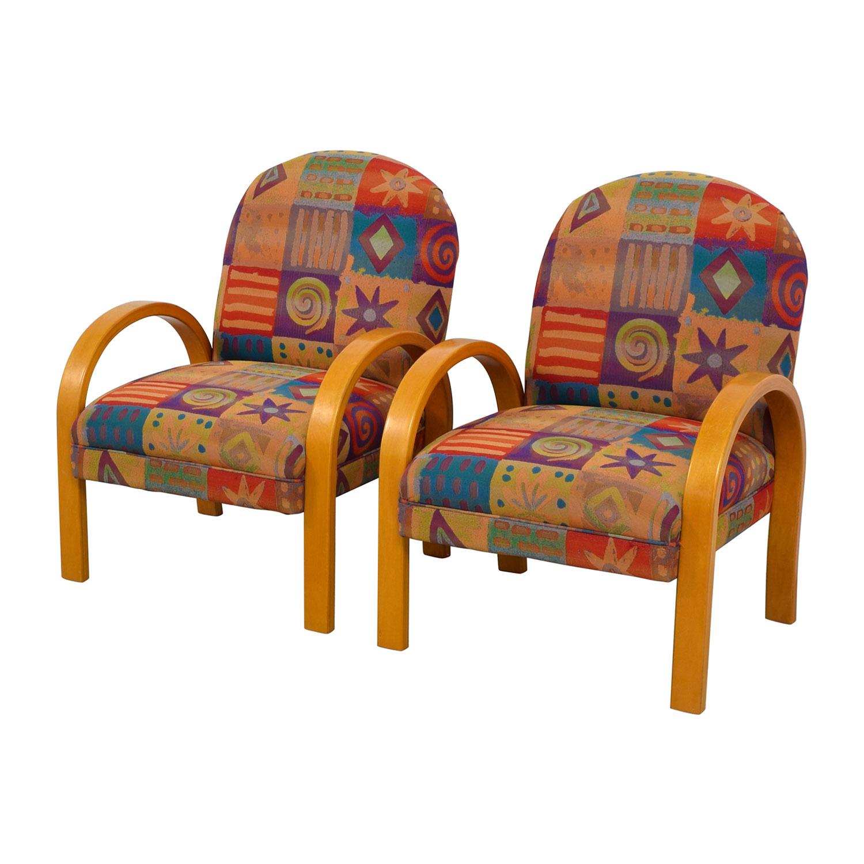 Lazy Boy Lazy Boy Multi-Colored Club Chairs Chairs