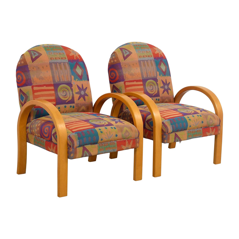 Lazy Boy Lazy Boy Multi-Colored Club Chairs on sale