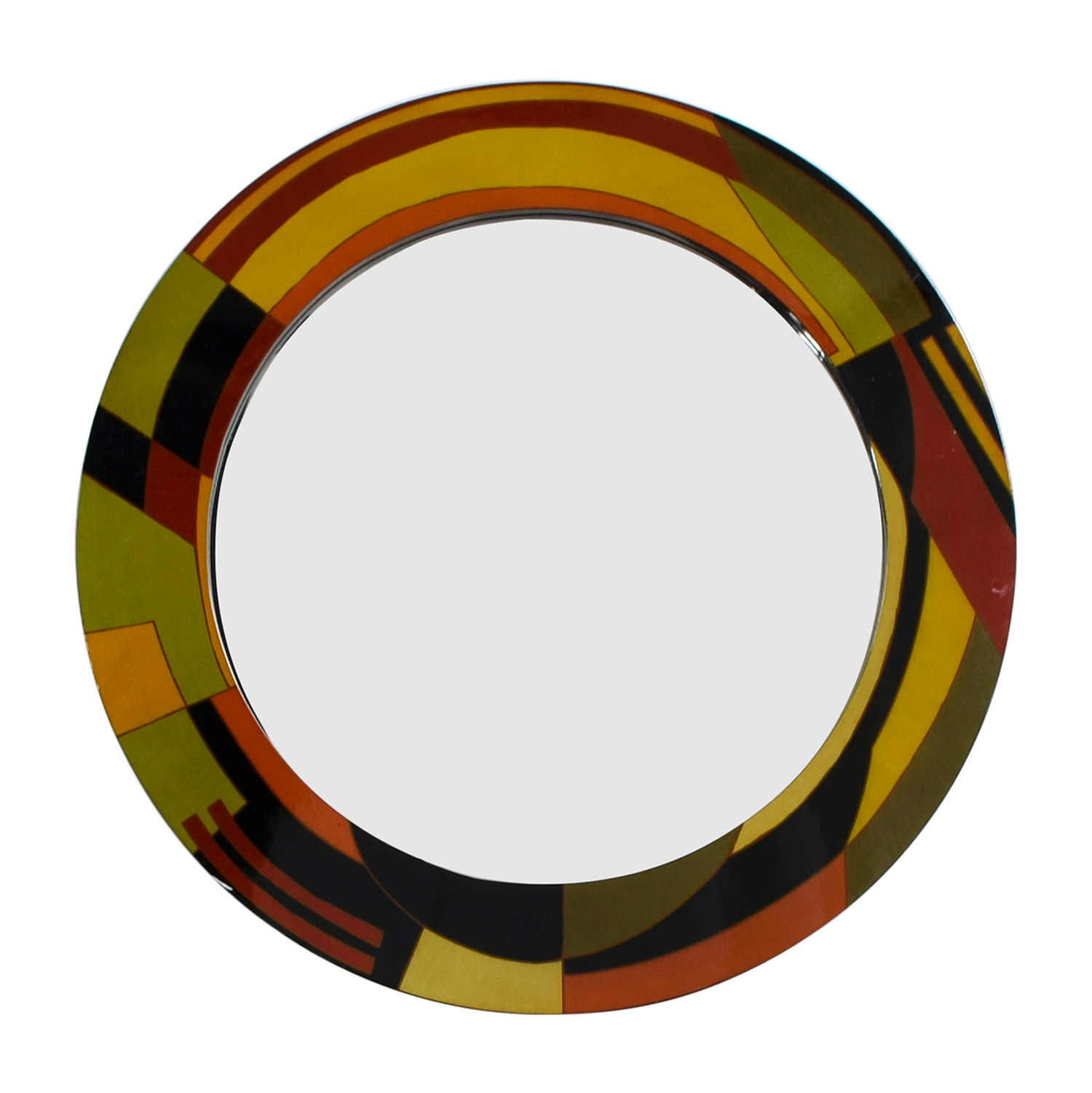 buy Rooms To Go Multi-Colored Round Contemporary Mirror Rooms To Go Mirrors