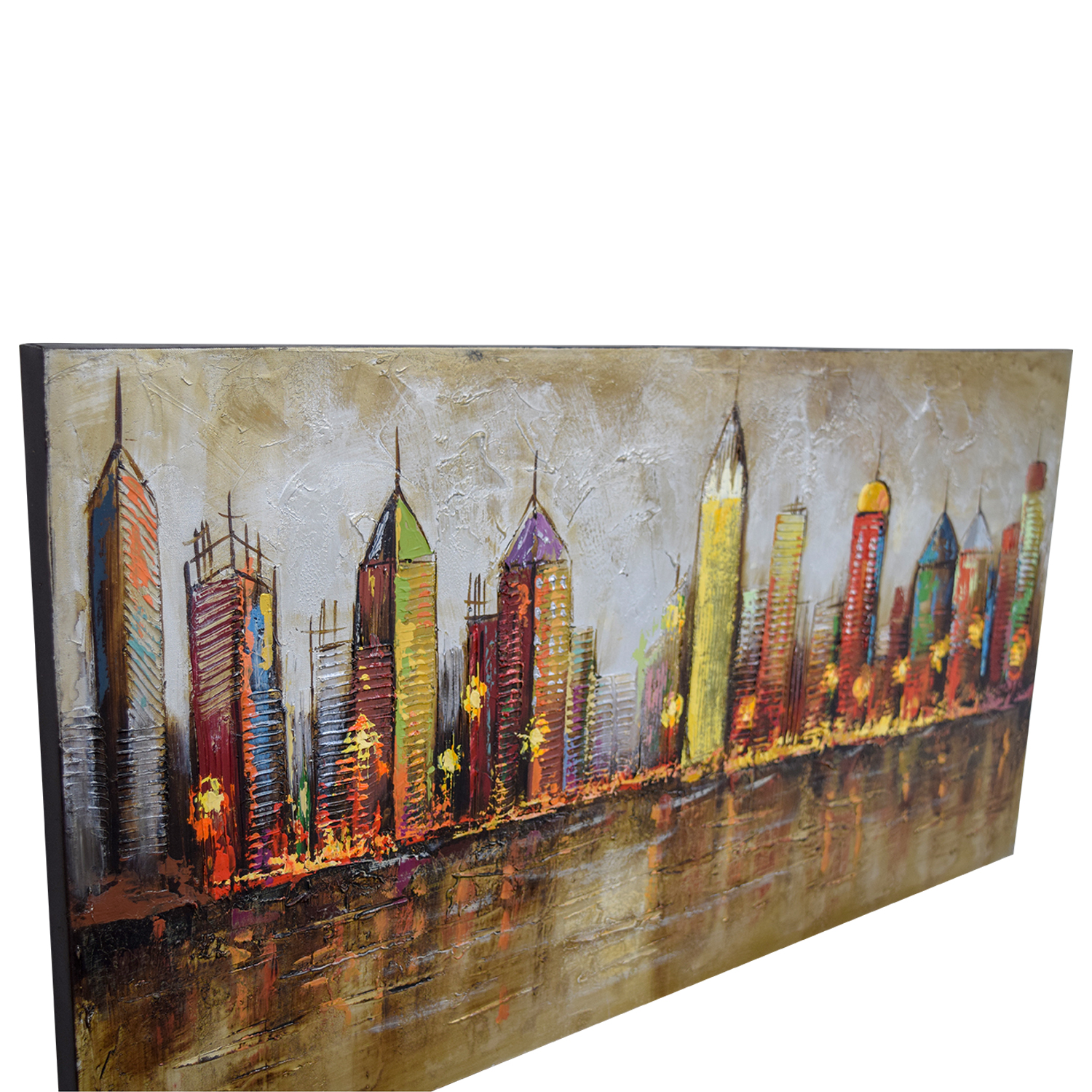 buy Pier 1 Imports Cityscape Painting Pier 1 Imports