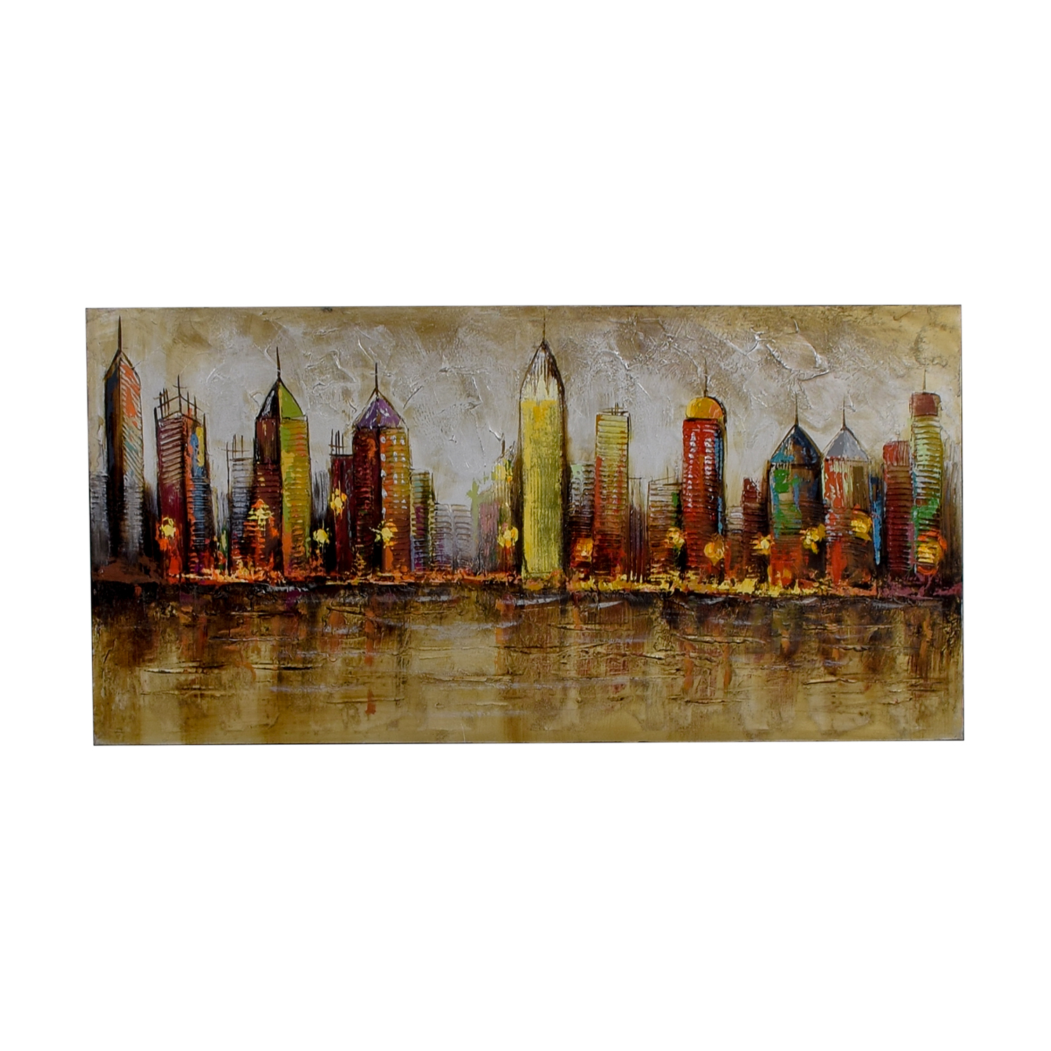 Pier 1 Imports Cityscape Painting / Decor