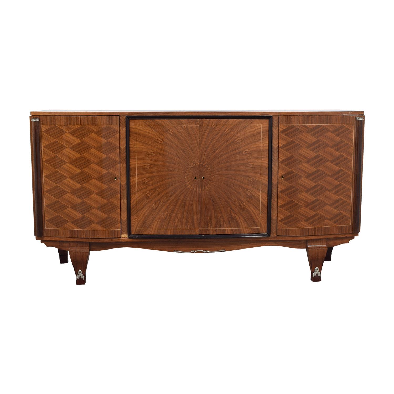 buy Antique Wood Side Cabinet