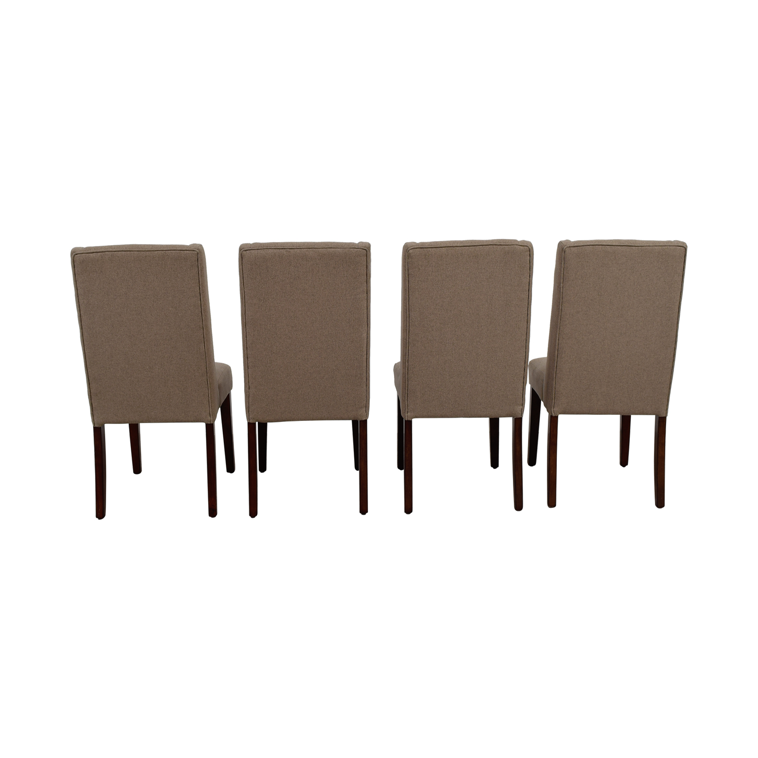 Darby Home Co Darby Home Co Tan Upholstered Dining Chairs used