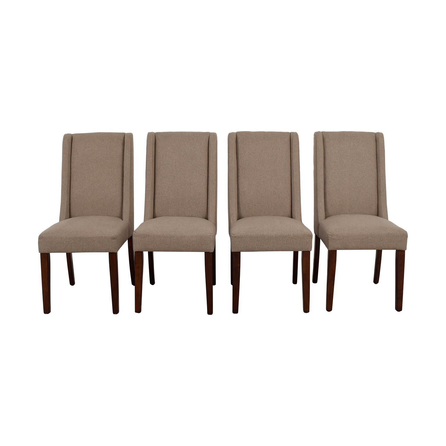 Darby Home Co Tan Upholstered Dining Chairs Darby Home Co