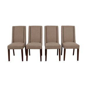 Darby Home Co Darby Home Co Tan Upholstered Dining Chairs