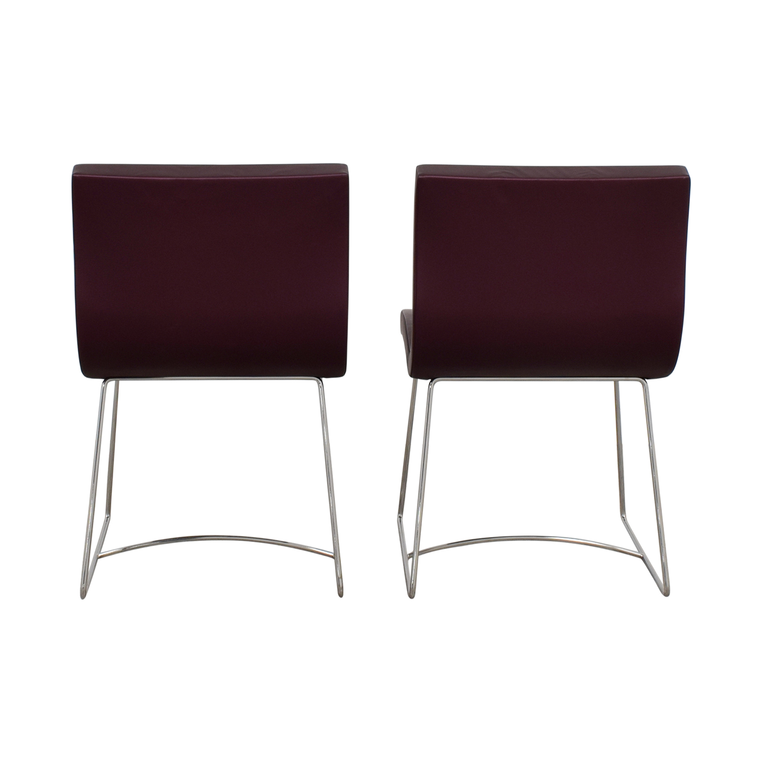 buy Ligne Roset Purple Dining Chairs Ligne Roset Dining Chairs