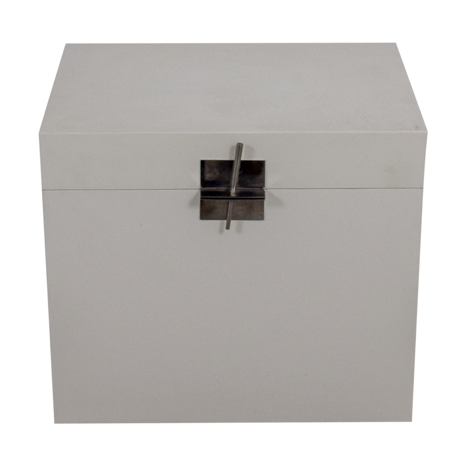 Ligne Roset White Truck Chest / Trunks