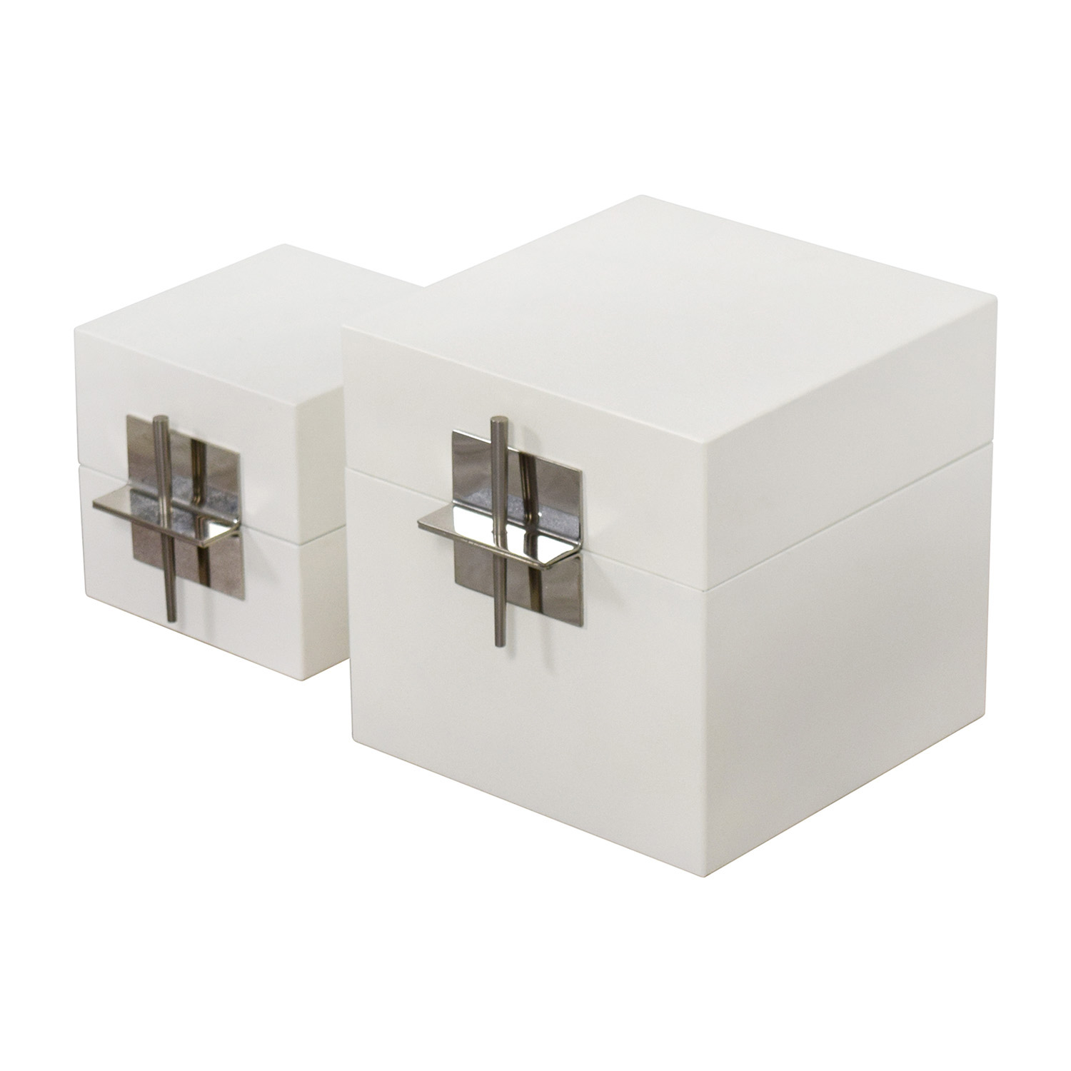 Ligne Roset White Truck Chests sale