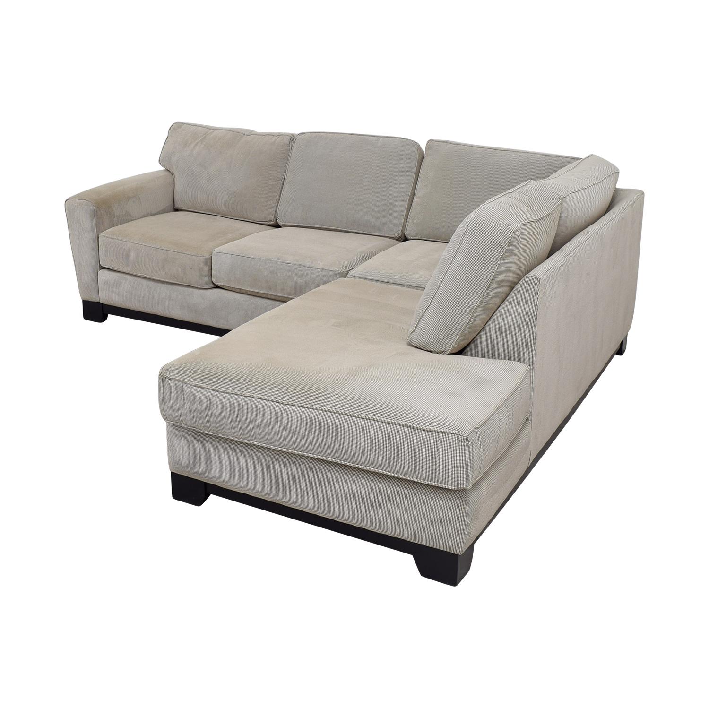 84 Off Jordan S Furniture Jordan S Furniture Beige L