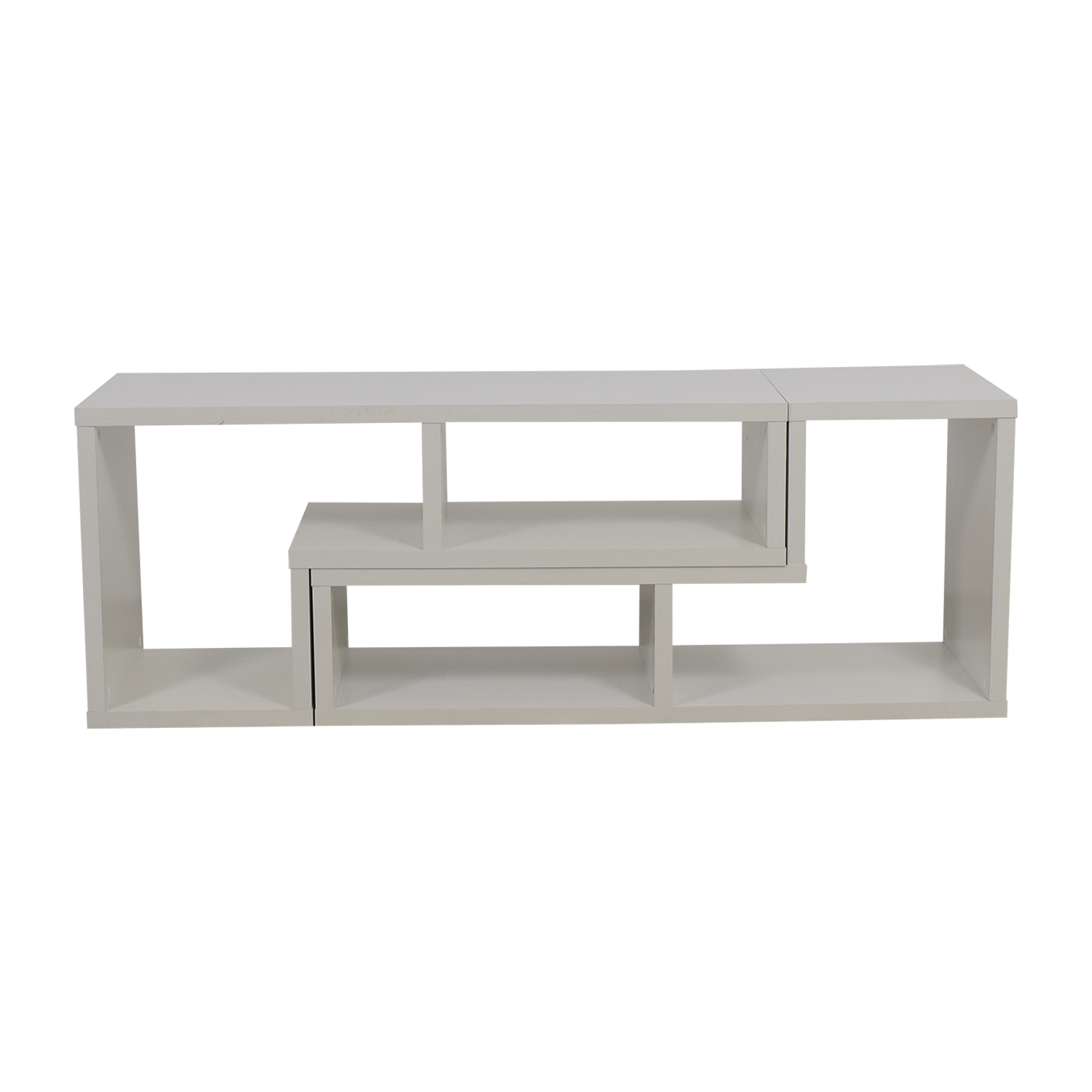 White Entertainment Console coupon