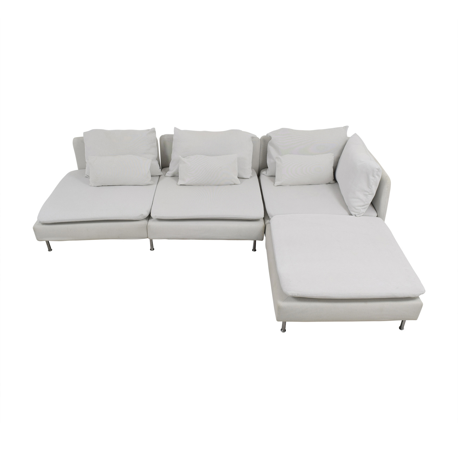IKEA IKEA Soderhamn White Sectional second hand
