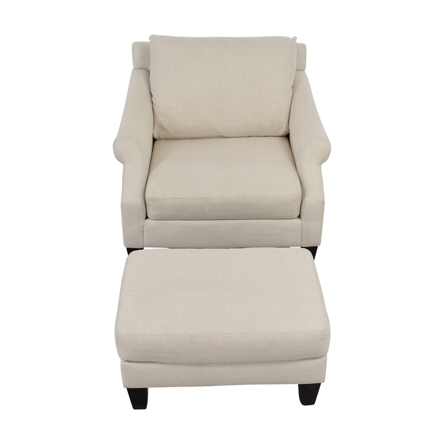 Raymour And Flanigan Chairs: Raymour & Flanigan Raymour & Flanigan Beige Love