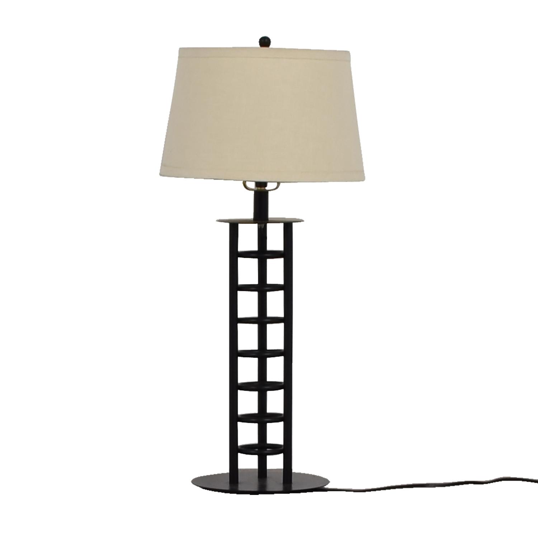 Black Metal Table Lamp discount
