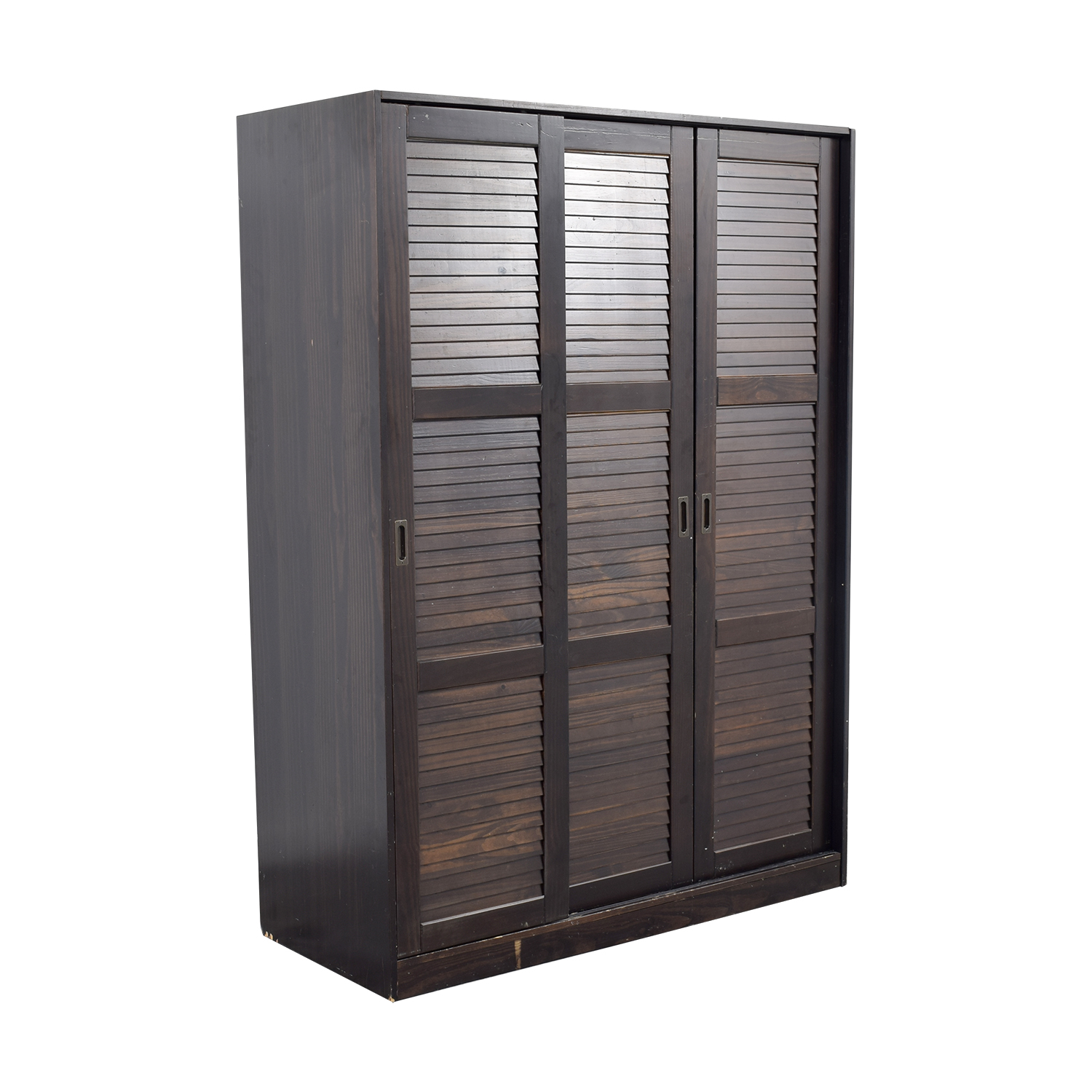 buy  Brown Wardrobe with Hanging and Shelf Space online