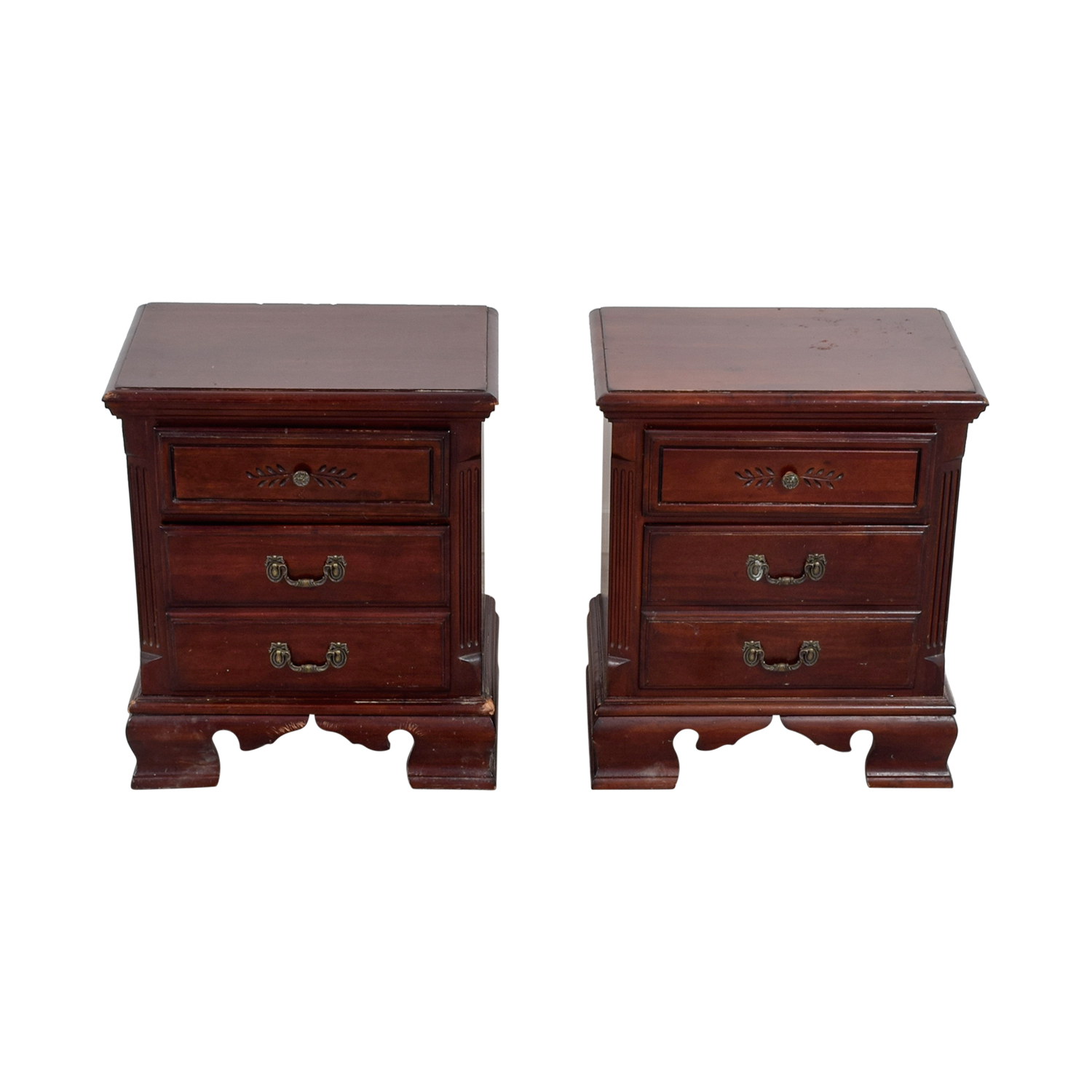 77 Off Hekman Furniture Hekman Furniture Company Two Drawer End