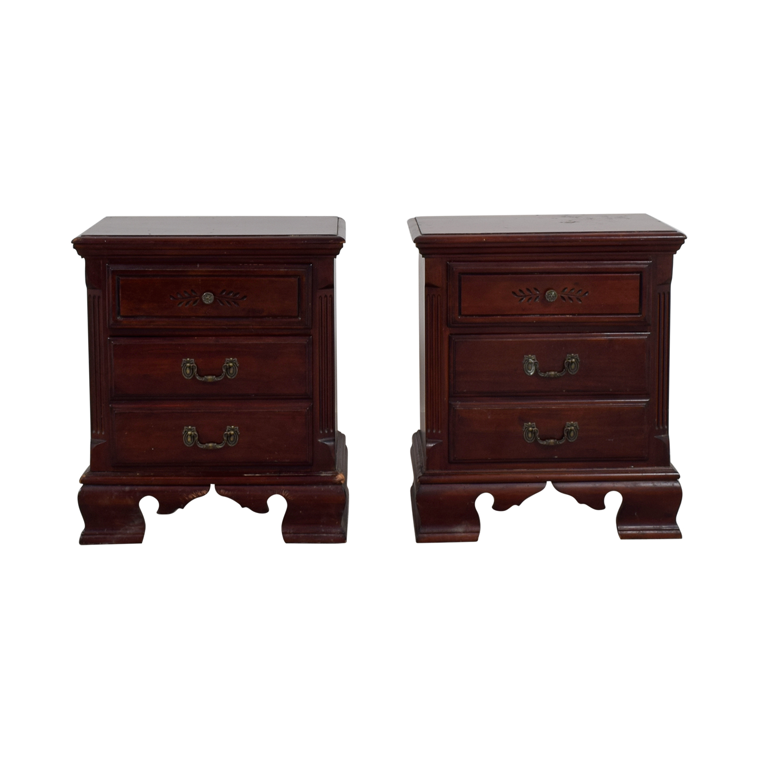 Hekman Furniture Company Hekman Furniture Company Two-Drawer End Tables Tables